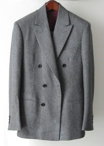 Caruso grey flannel DB 01