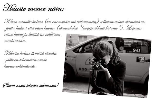 valokuvaushaaste