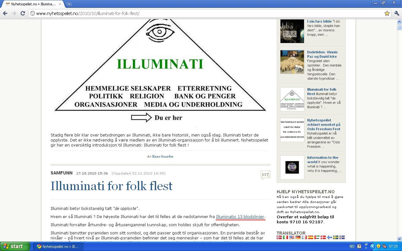 mer om illuminatis blodlinjer