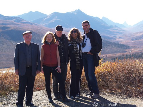 The Troupe at Tombstone Interpretive Centre:  Alistair MacLeod, Patricia Coates,  IAIN BAXTER&, Louise Chance-Baxter, and Nino Ricci