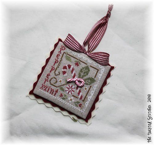 "Little House Needleworks ""Peppermint Twist"""