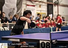Tanaka Jogos abertos (MateusMarx) Tags: japan brasil ball de table tennis santos tenis marx japão paulo fotografia sao rede esporte japones mesa jogos abertos tanaka 2010 mateus raquete atleta pindamonhangaba mattews shigueru
