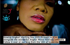 BLOWUP ANGKOR - A Photographic Intervention on the Streets of Siem Reap, Cambodia