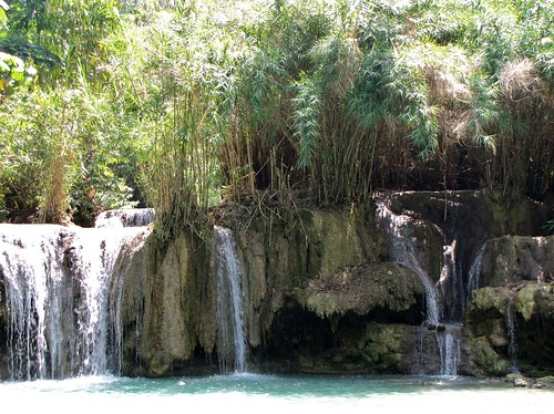 Kuangsi Waterfall - Watering Hole