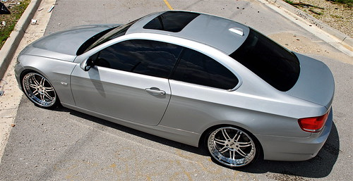 07 BMW 335i on SEVAS WHEELS