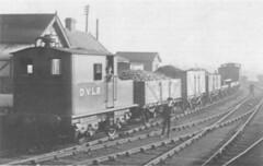 Layerthorpe c1930's (seanofselby) Tags: light train derwent railway steam valley dvlr layerthorpe