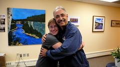 Politician Hug