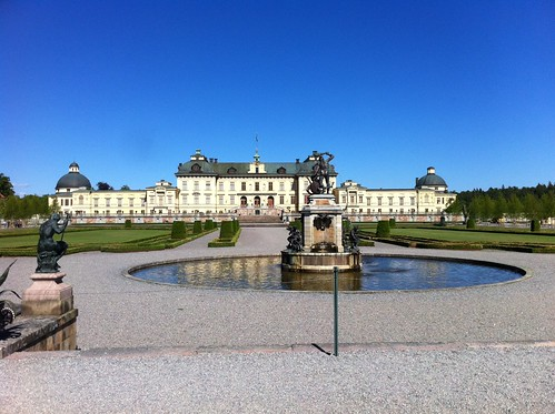 At the Royal residence Drottningholm