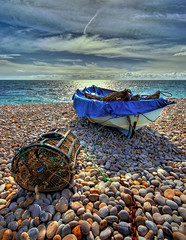 Fishing Boat & Lobster Pot 2 (petervanallen) Tags: unicef unitedkingdom 070707 petervanallen