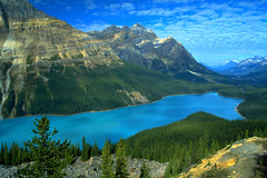 Peyto Lake, Icefields Parkway, Alberta, CA - by Leto A.