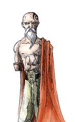 Fractal - Gaymorat (Jugo de Naranjo) Tags: old man drawing fractal dibujo viejo gaymorat