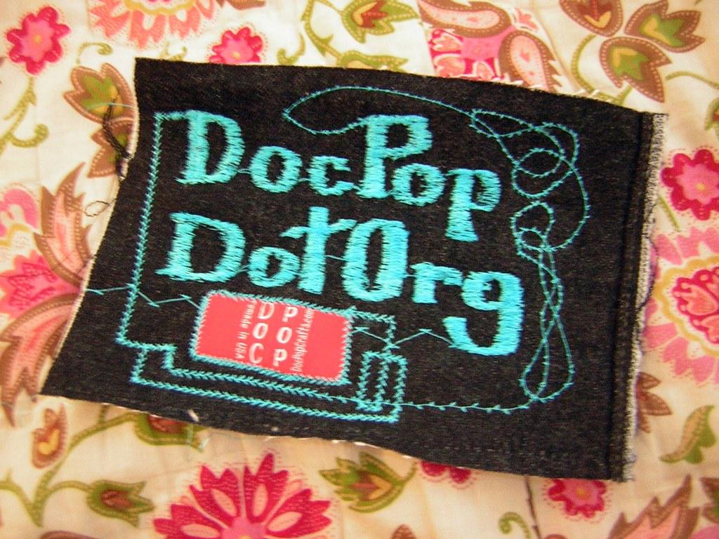 Doc Pop is crafty