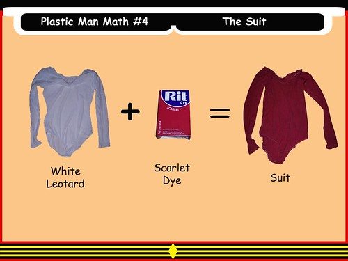 Plastic Man Math #4 - The Suit