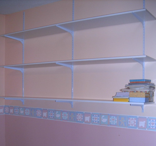 Shelving in My New Craft Room