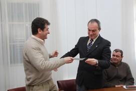 Leg. Dep. Arq. José Luis Scarlatto - Int. Lic. Sergio Cóser