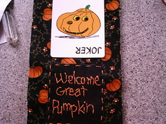 halloween finished embroidery (shebrews) Tags: halloween pumpkin embroidery peanuts