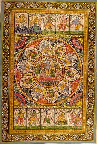 Raghurajpurer Patachitra
