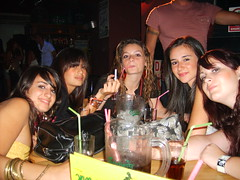 girls just wana have fun! (|nG) Tags: girls friends night out fun drink straw drinks