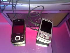 Nokia N81 and Nokia N95