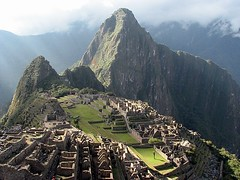 Peru, Machupicchu: Light on the past