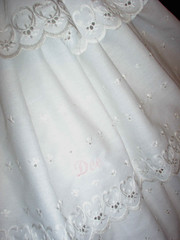 Slip eyelet ruffle close up (scarlett283) Tags: costumes scarlett civilwar corset period reenactment petticoat camisole gonewiththewind chemise gwtw crinoline scarlettohara undergarments underpinnings pantalettes pantalets hoopslip
