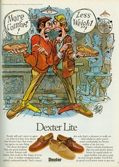 Davis - ad Dexter shoe Playboy8012