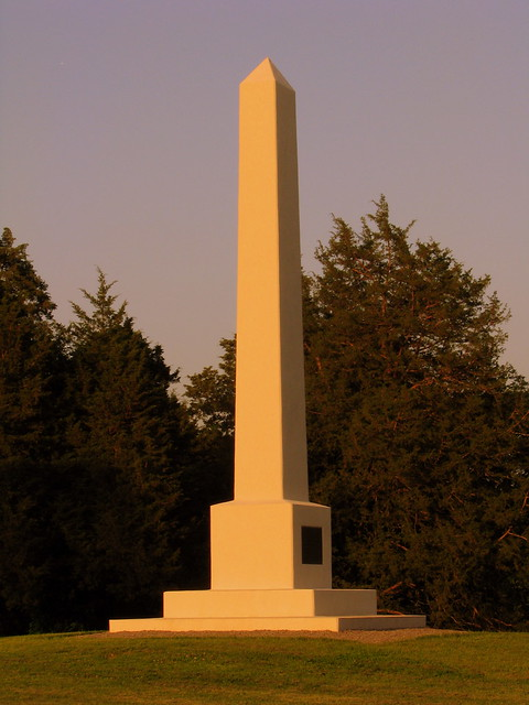 SRNB: Artillery Monument at McFadden's Farm