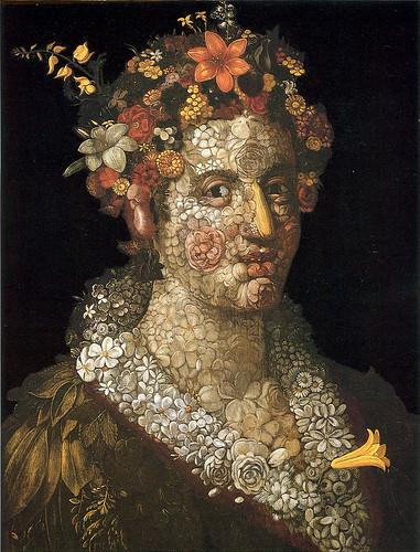 013-Flora 1591-Giuseppe Arcimboldo