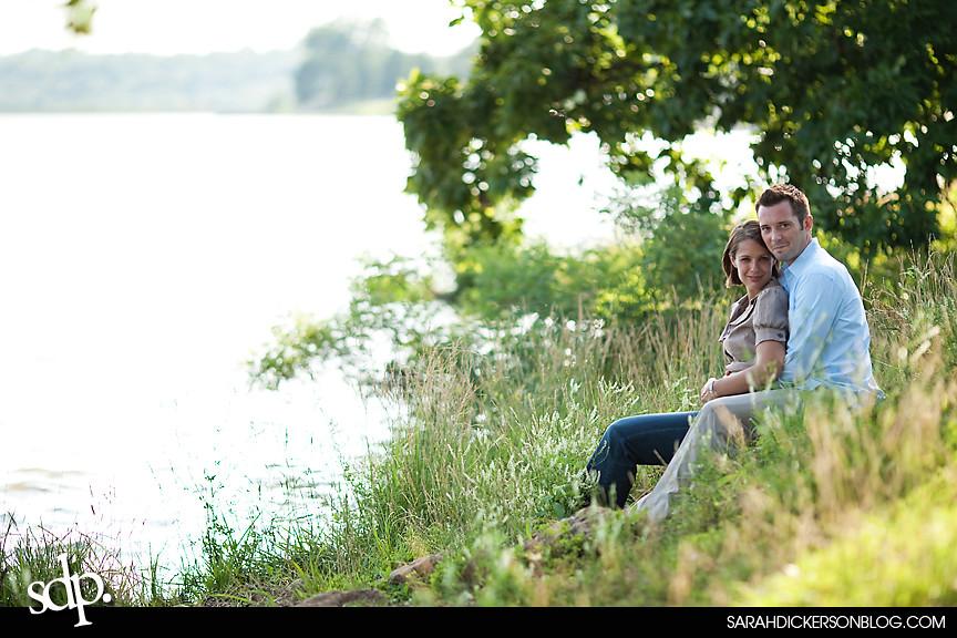 Shawnee Mission Park, Kansas engagement photography