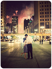 { j & t } (caterpillars) Tags: road street city love vintage 50mm engagement kiss couple downtown fireworks michigan detroit romantic woodward detroitmichigan downtowndetroit woodwardavenue canon50mmf14 detroitfireworks engagementshoot detroitweddingphotography michiganwedding michiganweddingphotography canon5dmarkii detroitengagementshoot