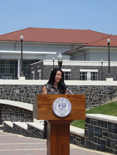 Student Speaker - Forbes Center Dedication