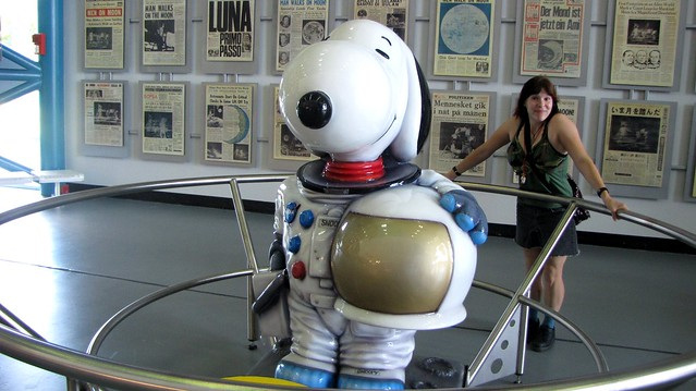 Snoopy in space!