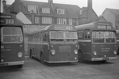 Seaton depot. (island traction) Tags: beer bristol general devon national western su eastern lyme regis seaton sidmouth ecw coachworks sul4a
