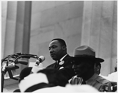 Civil Rights March on Washington, D.C. [Dr. Ma...