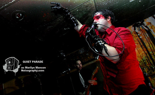 Quiet Parade as Marilyn Manson 06