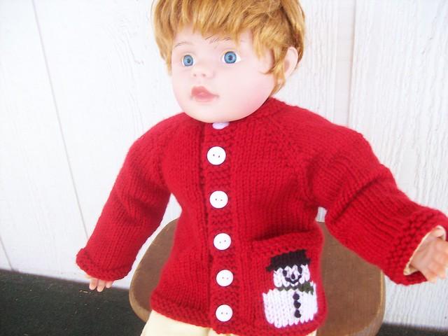 de2f75627 Ravelry  Snowman Baby Sweater pattern by Nancy Pietraszek