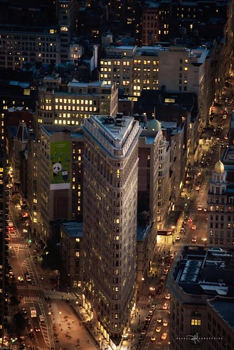 Flatiron Building at Dusk