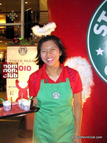 Starbucks Christmas Cheers Party