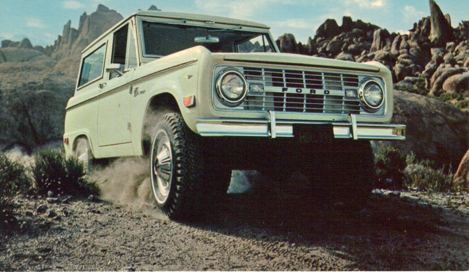Ford Bronco Wallpaper