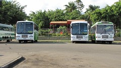 there's a new one in the middle (bhaskarroo) Tags: classic buses fiji hino fs 535 nadi sigatoka