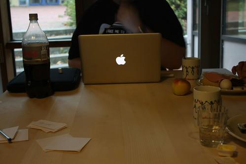 Angebissener vs ganzer Apfel