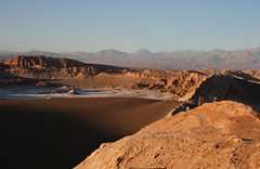 Valle de la Luna (flower_bee) Tags: chile mountains nature landscape rocks dunes volcanoes valleyofthemoon cordilleradelasal atacamadesert geologicformations valledelalauna