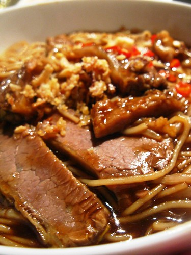 Singlish Swenglish Dried Beef Noodles