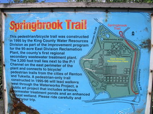 The Springbrook trail