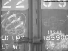 Whistle Blower Long Distance Romance and SB in Eugene Oregon  97 ( boxcar art freight train graffiti ) (4 I ARCHIVES) Tags: railroad art oregon train graffiti michael long tag stock tags romance eugene boxcar lower 06 distance hobo sb freight rolling whistle 97 poulin monikers moniker boxcarartcom wwwboxcarartcom
