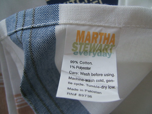 they are really by Martha, I knew I loved them for some reason!