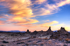 Paint the Sky (sandy.redding) Tags: sunset clouds landscape tufa hdr tronapinnacles nikkor1855mmf3556g shotwithmikebyrne