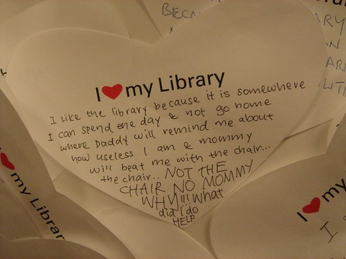 """I Heart My Library"" gone wrong... - 1"