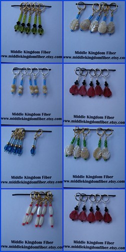 Middle Kingdom Stitch Markers