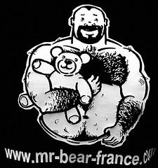Gay Pride 2007 - Mr Bear (glucozze) Tags: street gay paris lgbt lgb homo homosexual gaypride trans lesbienne fiert marchedesfierts 30juin2007
